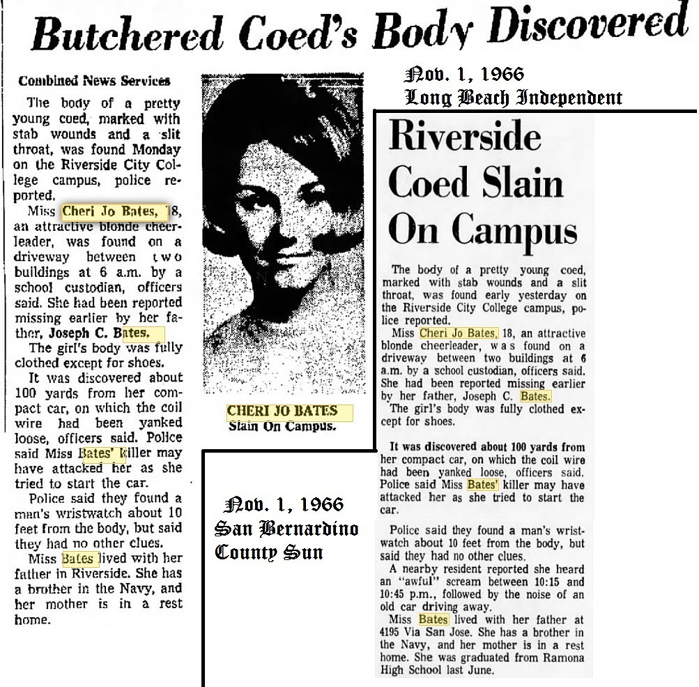cheri jo bates combined news newspaper article